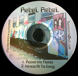 Rocket into Flames CD Single